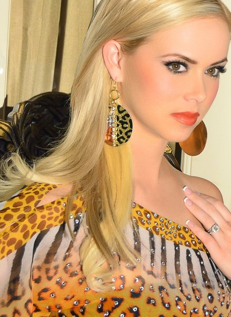 HALEY BARBER CARROLL- LEOPARD BOUTIQUE