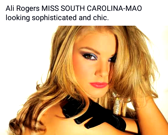Gorgeous, talented, ALI ROGERS is featured.