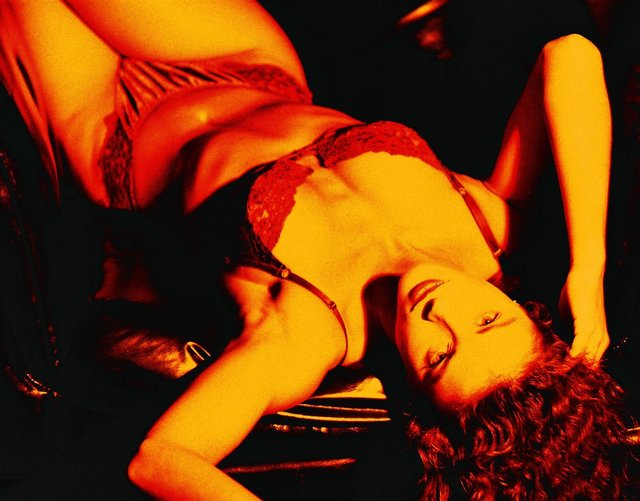 COVERGIRL SUPERMODEL/ACTRESS DANIELLE DOESNT HAVE A LINGERIE OBSESSION, SHE HAS AN OBSESSION WITH LINGERIE..