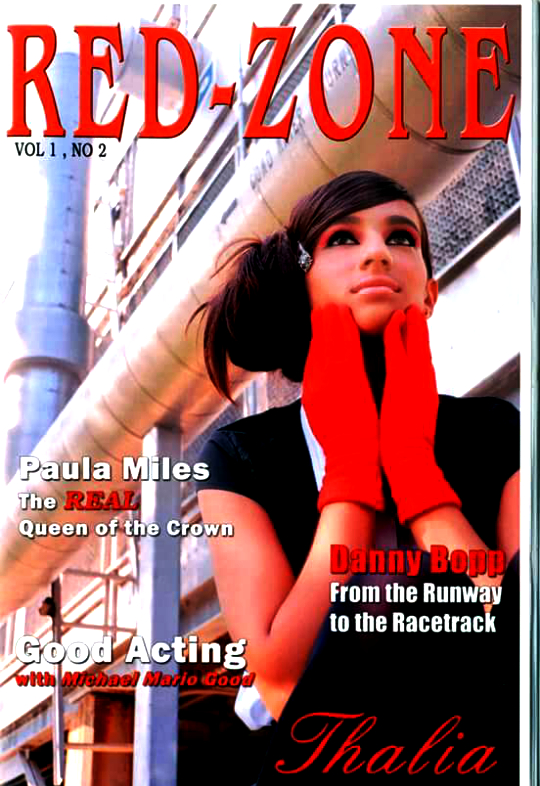 Latin stunner THALIA is featured on the cover of RED-ZONE.
