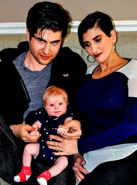 BRANDON JAY, ALIANA, AND DAUGHTER ARIANA