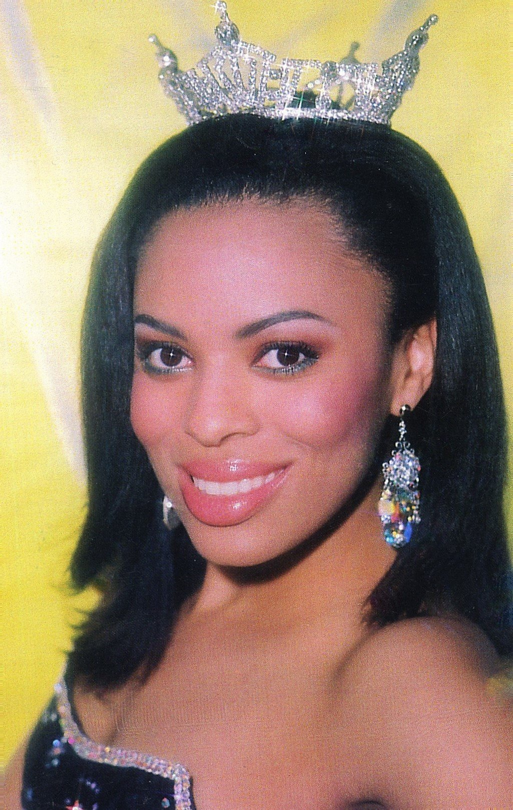 MISS SOUTH CAROLINA --  CRYSTAL GARRETT  She placed TOP 16 at MISS AMERICA and WINNER of REALITY CHECK.