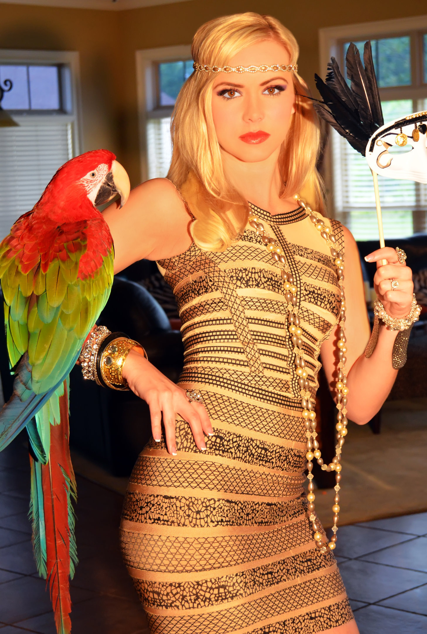 HALEY CARROLL- BEAUTY ICON and creator of LEOPARD BOUTIQUE.