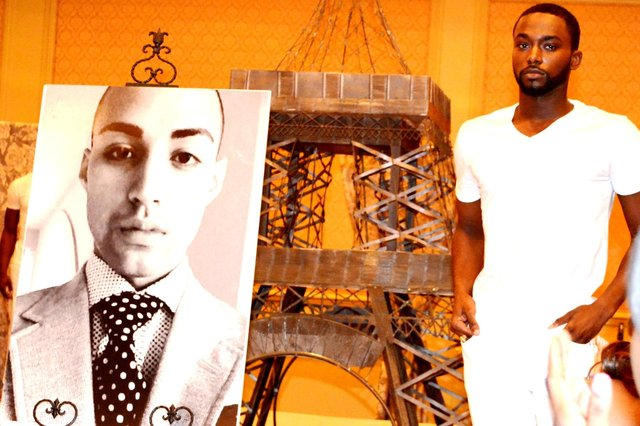 ELOPE TO PARIS fashion show pays homage to the late teen model NABEL NASSAR.