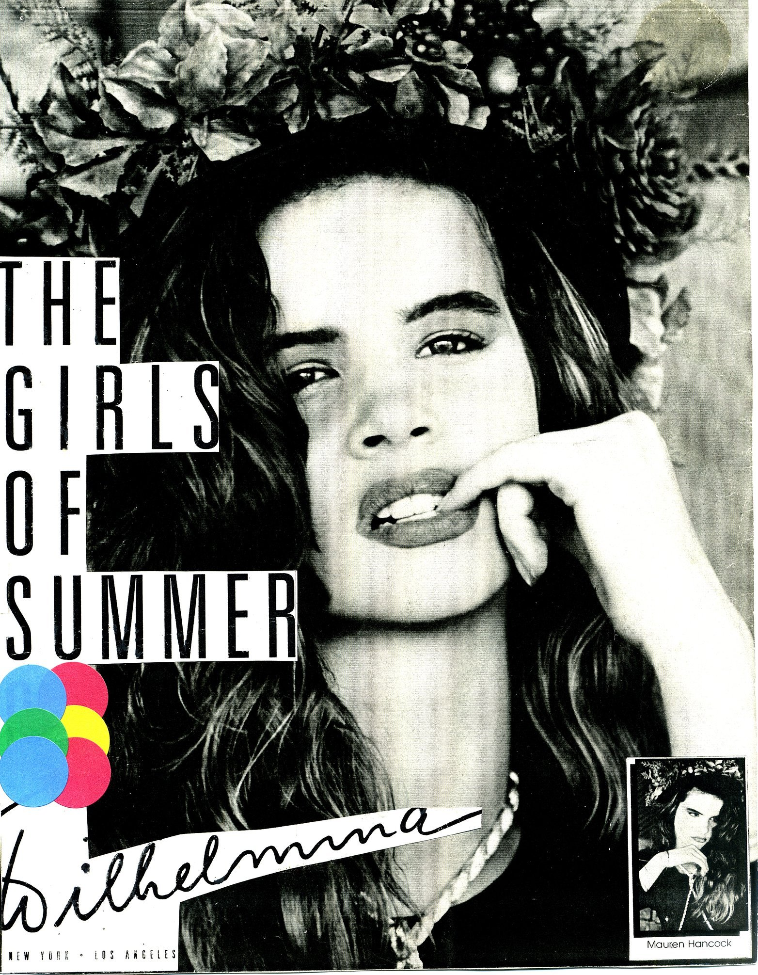 NYC model MAUREN is featured in THE GIRLS OF SUMMER for WILHELMINA MODELS in New York.