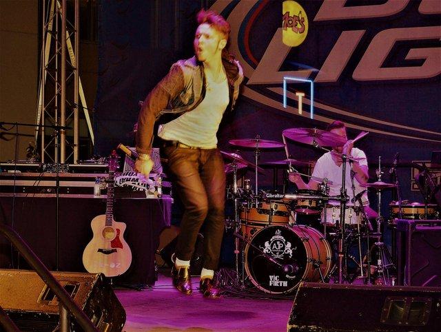 TASTE OF COLLINS live concert.