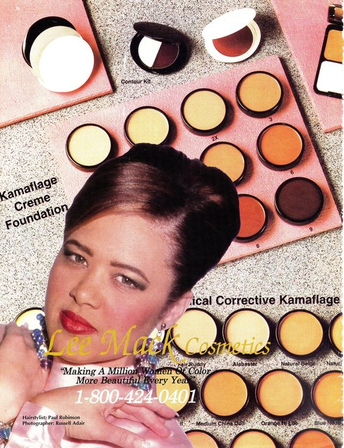 LE MACK COSMETICS national campaign.