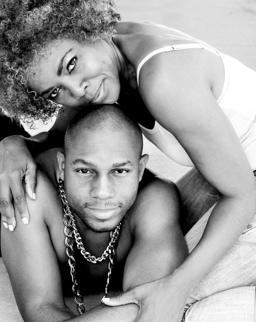 MODEL COUPLE JUAN AND TRACY