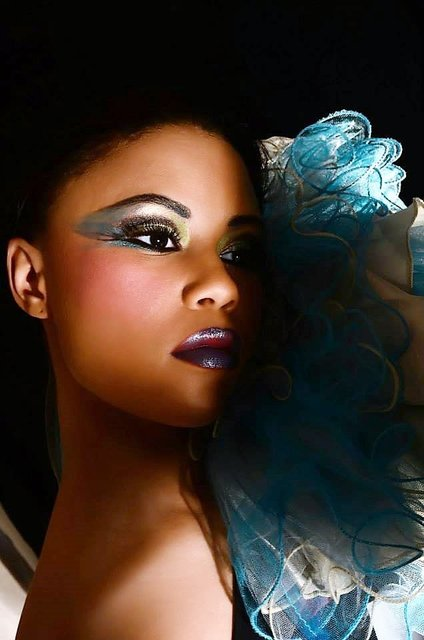TATIANA IS A CYAN  BLUE BEAUTY CONSTELLATION.