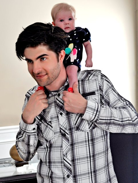 BRANDON JAY AND DAUGHTER AUDRIANA.