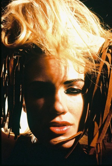 FRINGE AND WILD HAIR CAN BE CONSIDERED ICONIC EDGY STYLE.