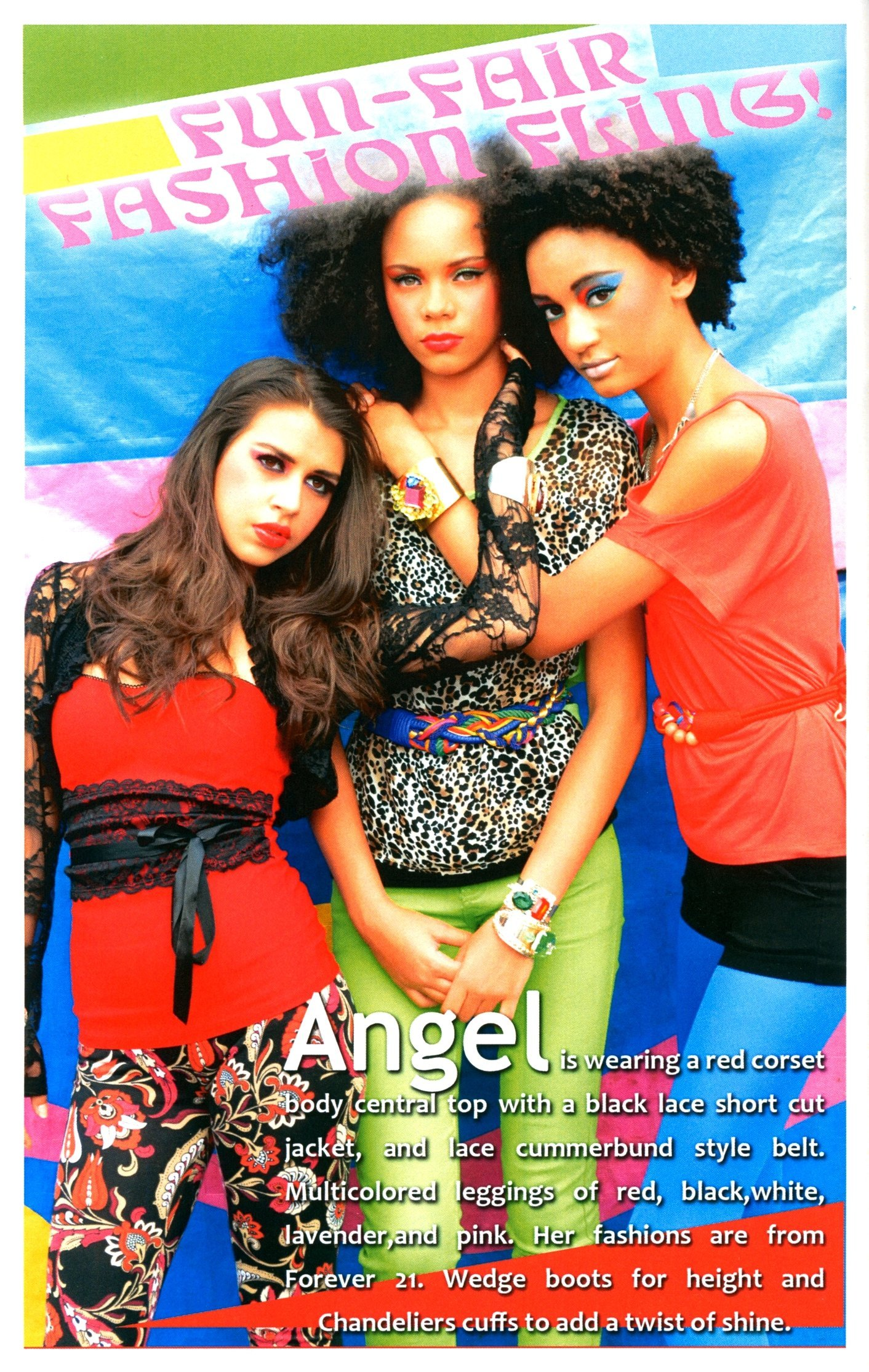 Models  ANGEL, ZHARIA, TYREE model for RED-ZONE magazine.