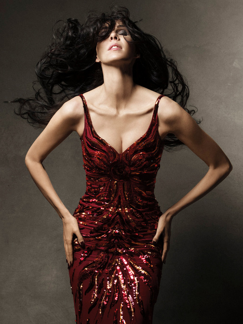 Harper's Bazaar. L'wren Scott. April 2011