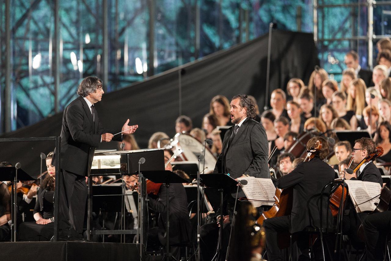 Maestro Riccardo Muti in concerto