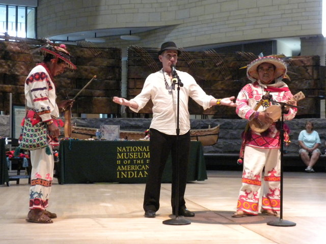Loza & Huichol Presentations at Smithsonian Museum, Washington, DC  (2011)