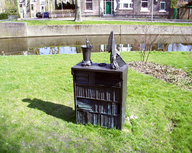Monument for Carry van Bruggen, 1998