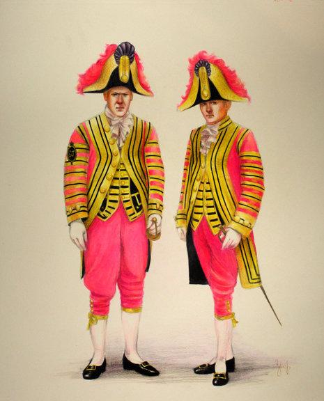 Coachmen, study in pink