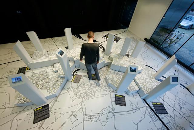 expositie architectuurcentrum rondeel