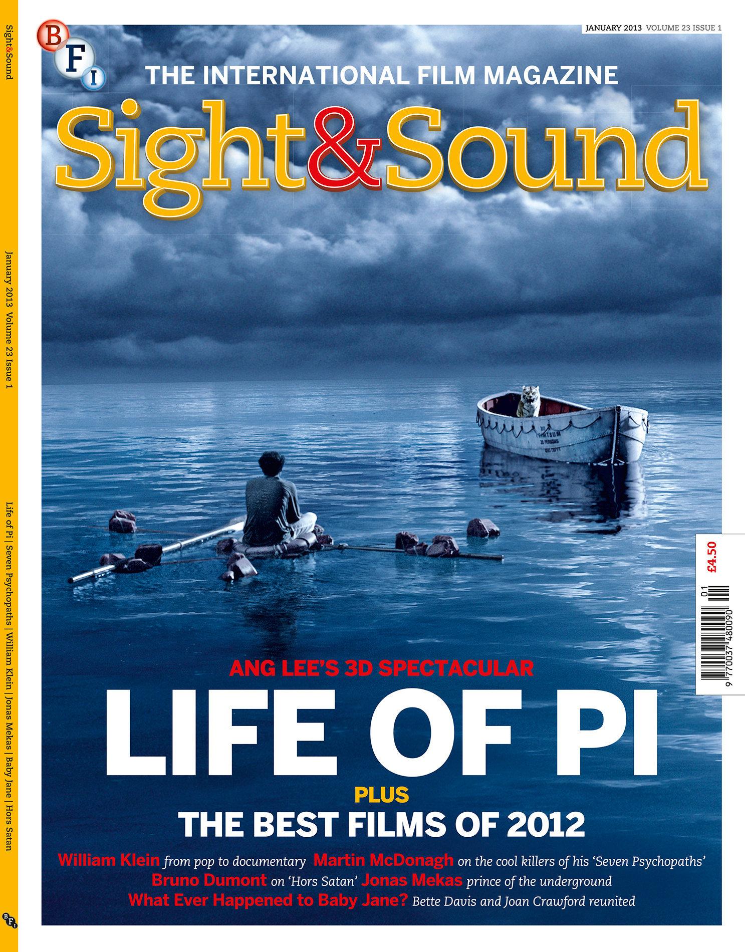 Sight & Sound  January 2013