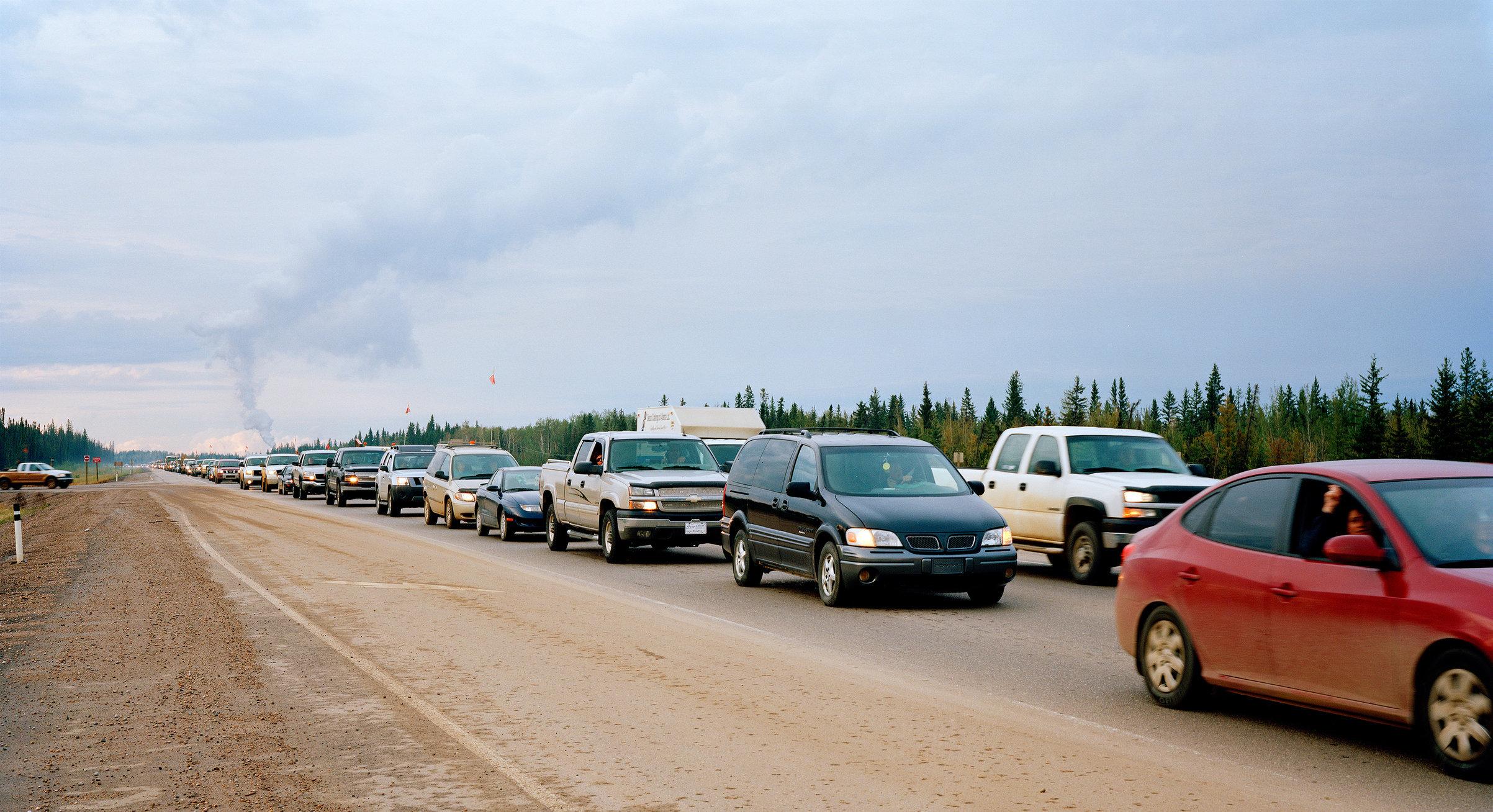 35km Traffic Jam