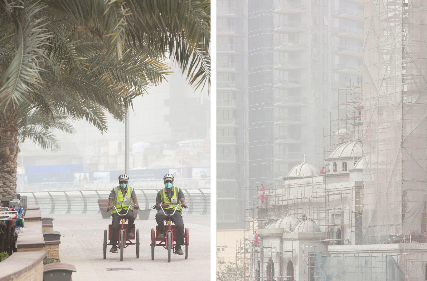 Sandstorm - Dubai Marina