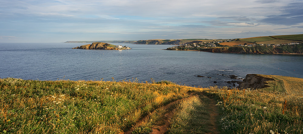 Bigbury Bay from Bantham Cliff