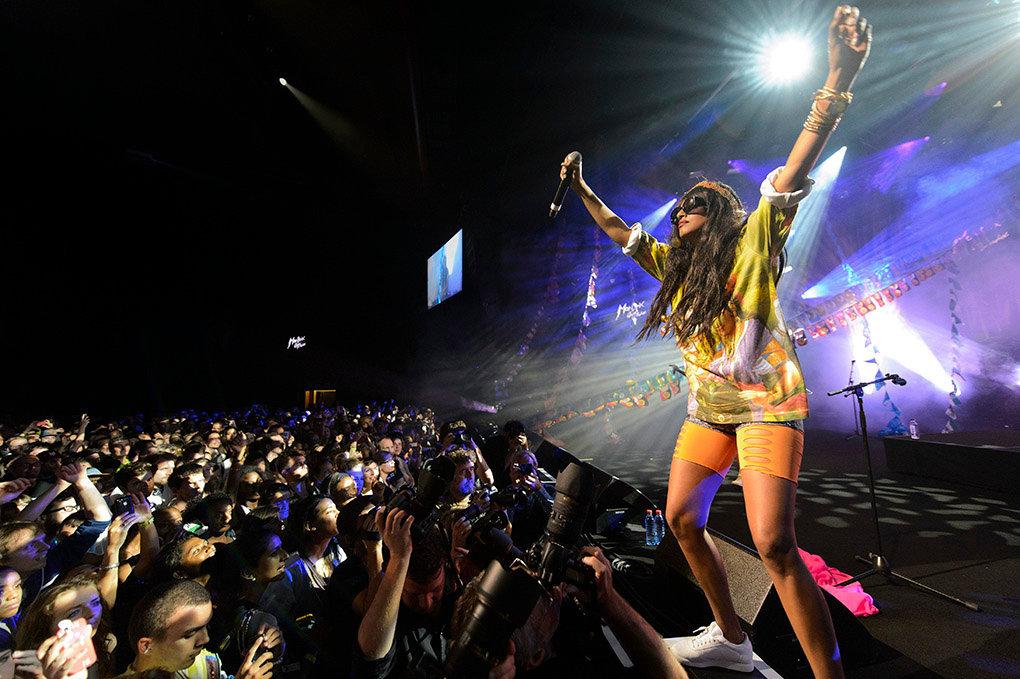 M.I.A. - Montreux Jazz Festival - 2012