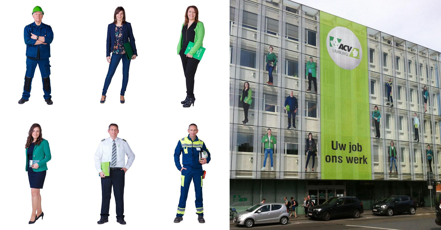 gevelsticker ACV Limburg
