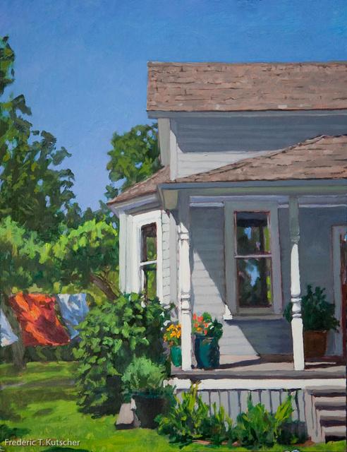 South Porch and Yard - July Afternoon (15W  19.75H medium) 2010-3 (1).jpg