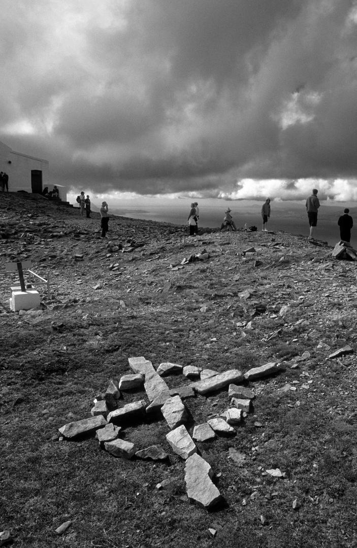 Croagh Patrick,la montagne sacrée des irlandais,2003