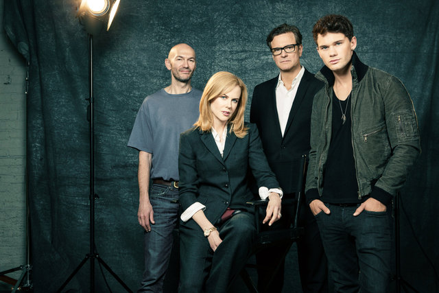 jonathan teplitzky, director, nicole kidman, colin firth, jeremy irvine, actors
