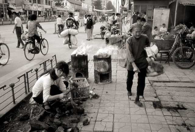China coal street BW.jpg