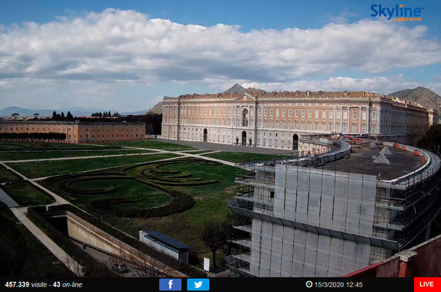 68_Veduta sulla Reggia di Caserta e Piazza Carlo III di Borbone.TIF