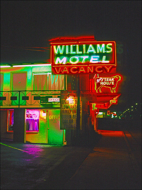 Williams motel from the route 66 series