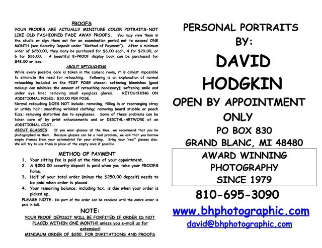 AA  2018 PORTRAIT AND FAMILY PRICE LIST 2018  BHPHOTOGRAPHIC PAGE 1.jpg