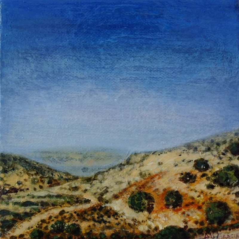 Through the Troodos Mountains by Alison Gracie