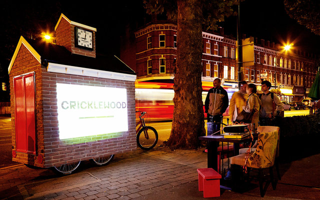 Cricklewood's Mobile Town Square