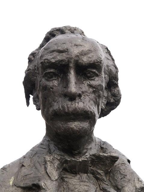 amsterdam - standbeeld multatuli