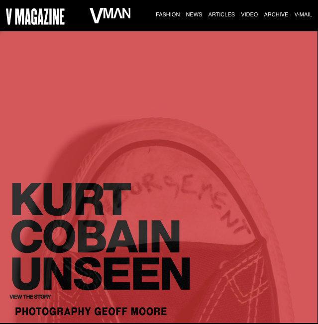 "V Magazine story on my art show ""ENDORSEMENT"""
