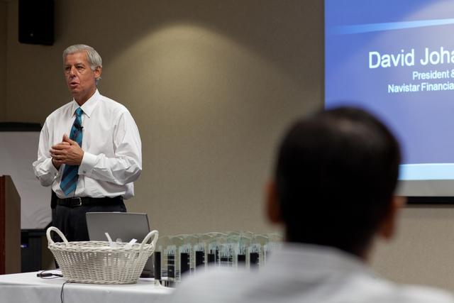 Dave Johanneson-President, CEO Navistar Financial