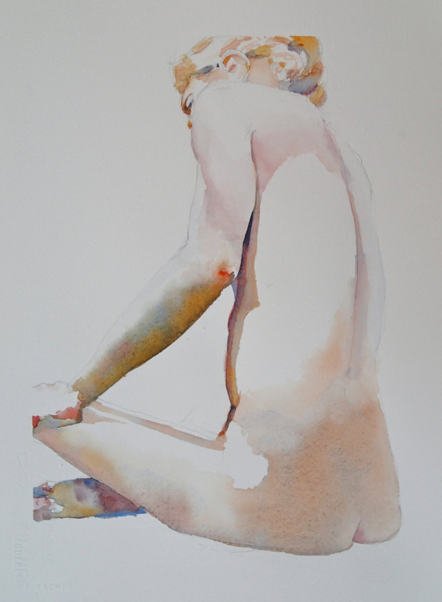 1. Long Sitting Figure