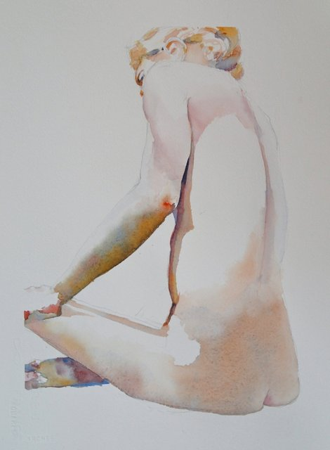1. Long Sitting Figure