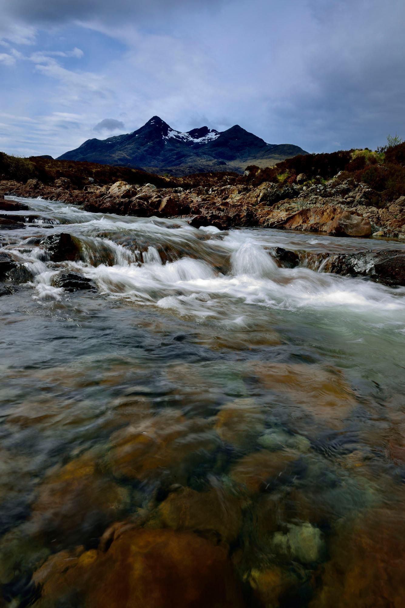 Les Cuillins, Sligachan, île de Skye