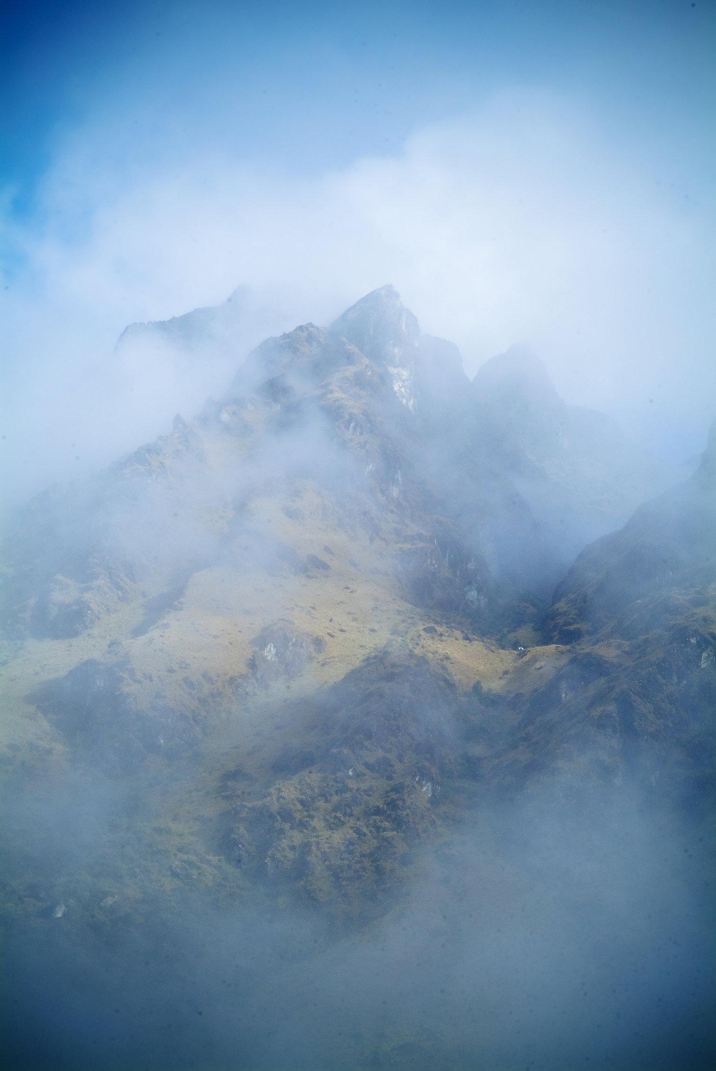 Foggy Bottoms - Inca Trail