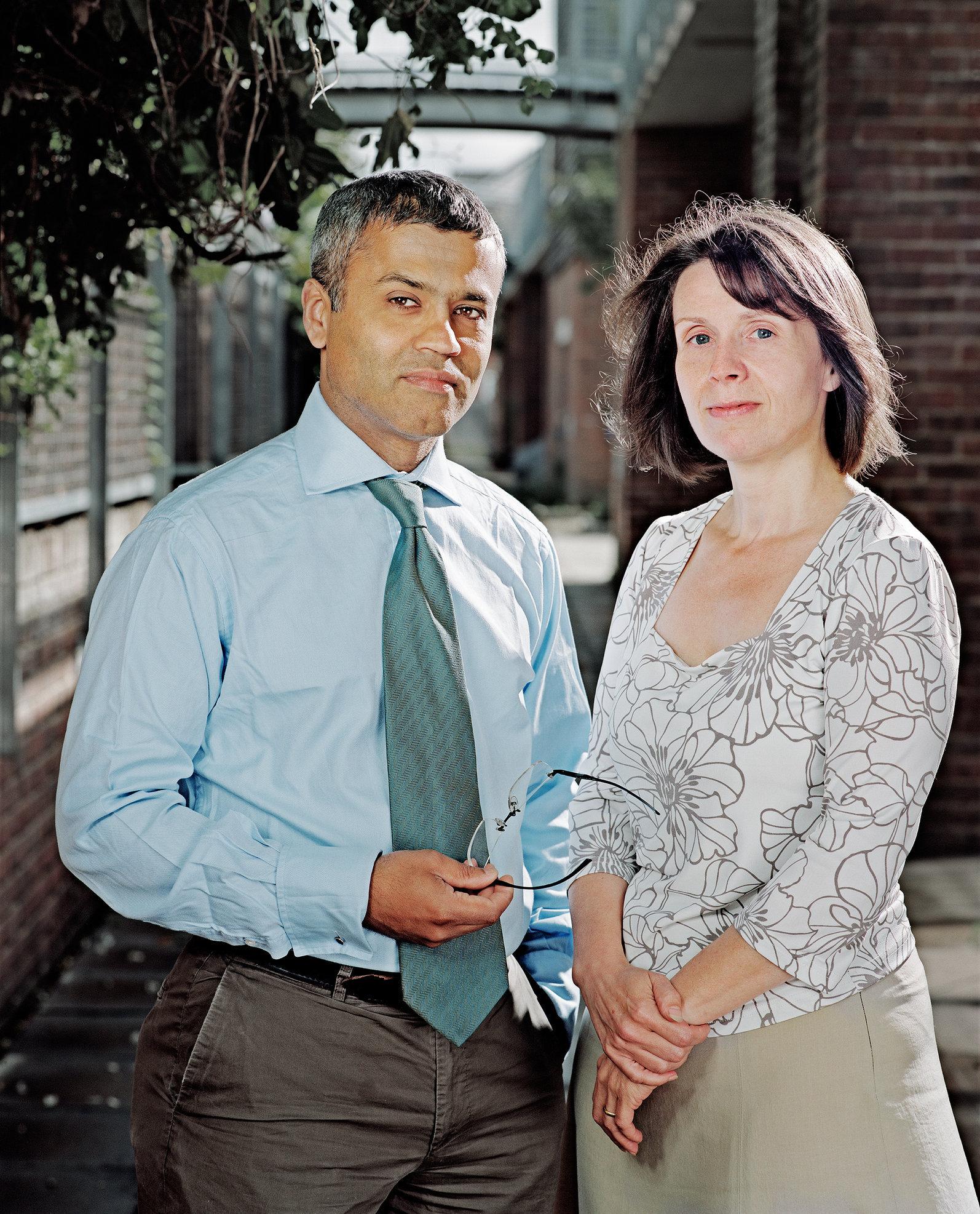 Pooran Desai & Sue Riddlestone, Co-Founders of Bioregional.