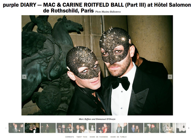 purple DIARY   MAC   CARINE ROITFELD BALL  Part III  at Hôtel Salomon de Rothschild  Paris copie.jpg