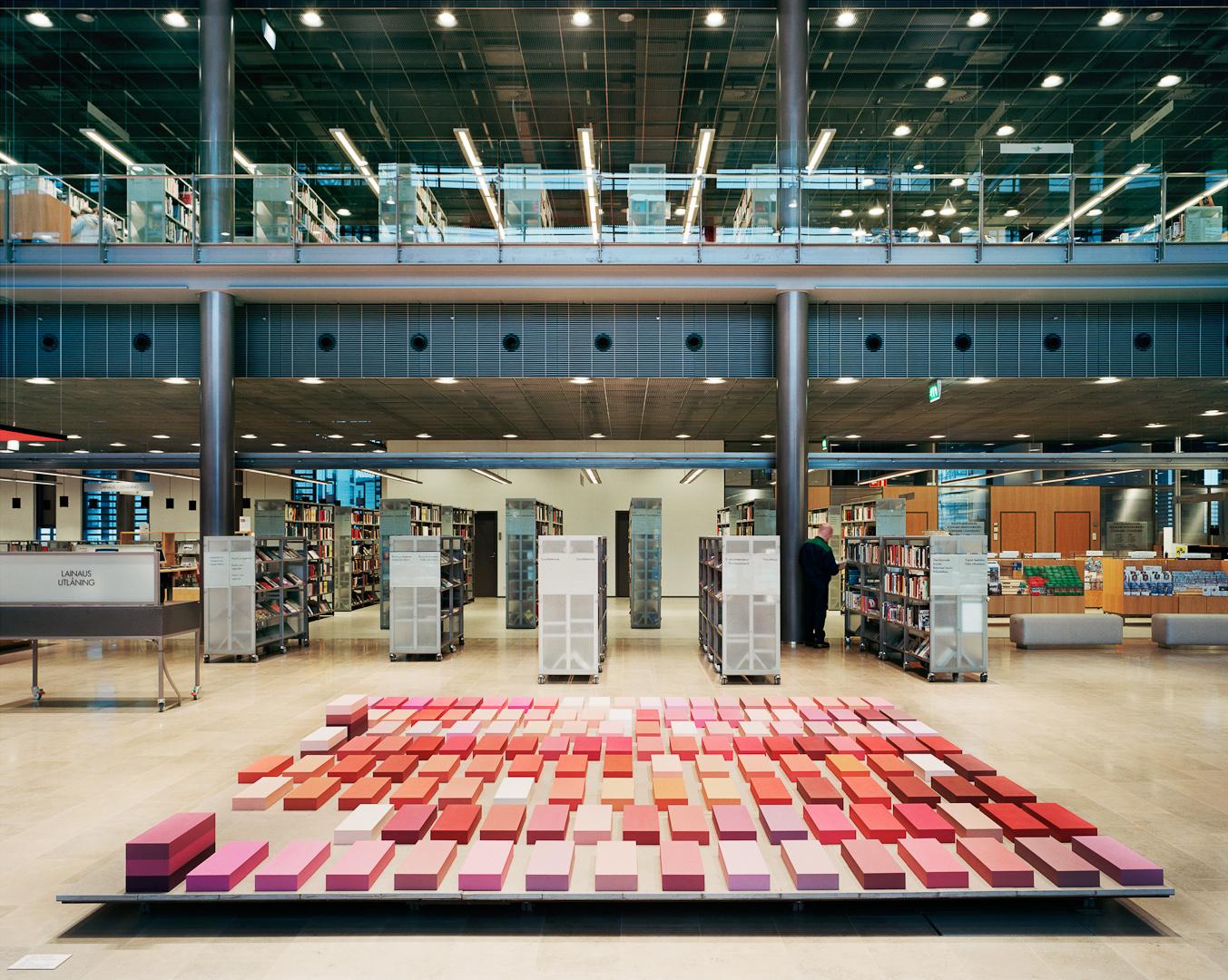 Sello Library | Artwork by Silja Rantanen