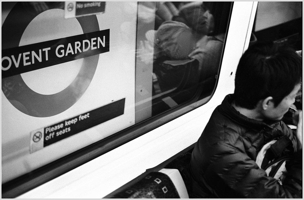 Covent Garden Station, London