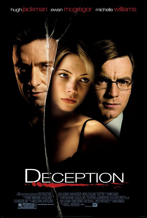 Photographs used on set of Deception