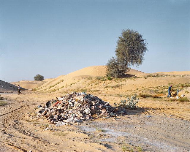 Burying Construction Waste